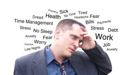CBD Oil and Anxiety - anxiety man - CBD Oil and Anxiety